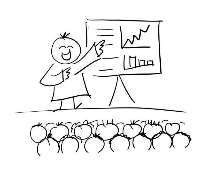 3 tips voor een weergaloze presentatie. Zo bestorm je het podium.